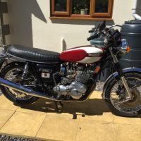 Triumph T160 1975