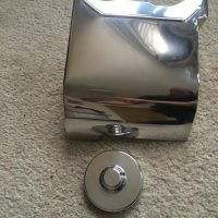 For Sale - Polished stainless T160 Starter motor covers and end caps